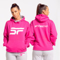 Pink / White Hooded Top (F)