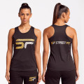 Limited Edition Black / Gold / Silver Sports Vest (F)